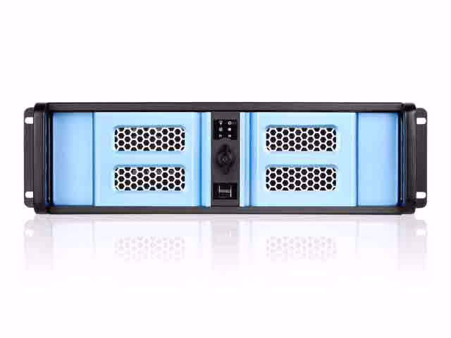 Picture of iStarUSA D-300SE 3U Compact Stylish Rackmount Chassis