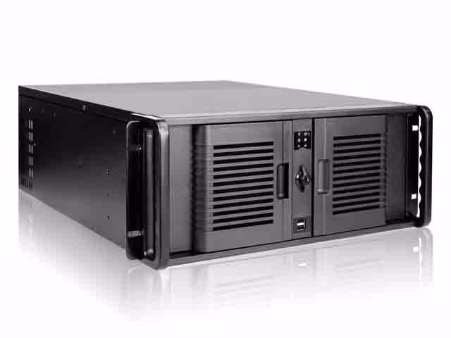 "Picture of iStarUSA D-407P-DE6 4U Compact Stylish 6x3.5"" Trayless Hotswap"