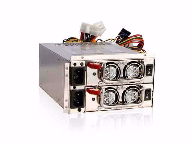 Picture of iStarUSA IS-550R8P 550W PS2 Mini Redundant Power Supply