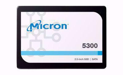 Picture of Micron 5300 PRO 7680GB 2.5 Non-SED Enterprise Solid State Drive - MTFDDAK7T6TDS-1AW1ZABYY