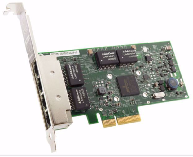 Picture of Broadcom BCM5719-4P - 4 x 1GbE PCIe NIC - BCM95719A1904AC